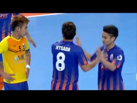 Highlight AFF Futsal Club 2015 : 24 NOV 2015 : Thai Port(THA) 4-0 MIC FC(MYA)