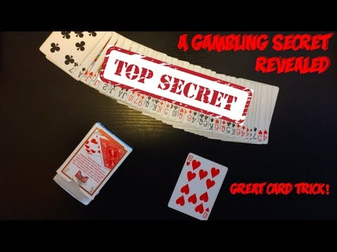 A Gambler's Secret: AMAZING Card Trick Performance And Tutorial!