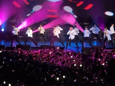 (180119) Wannaone - Wannabe Loved Energetic & Beautiful Stage At Stadium Negara Kuala Lumpur