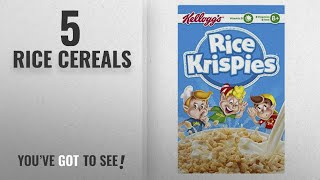 Top 10 Rice Cereals [2018]: Kellogg's Rice Krispies Original Cereal 700 g