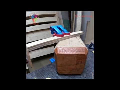 Timelapse Build Wooden Thor's Hammer - DIY and Crafts