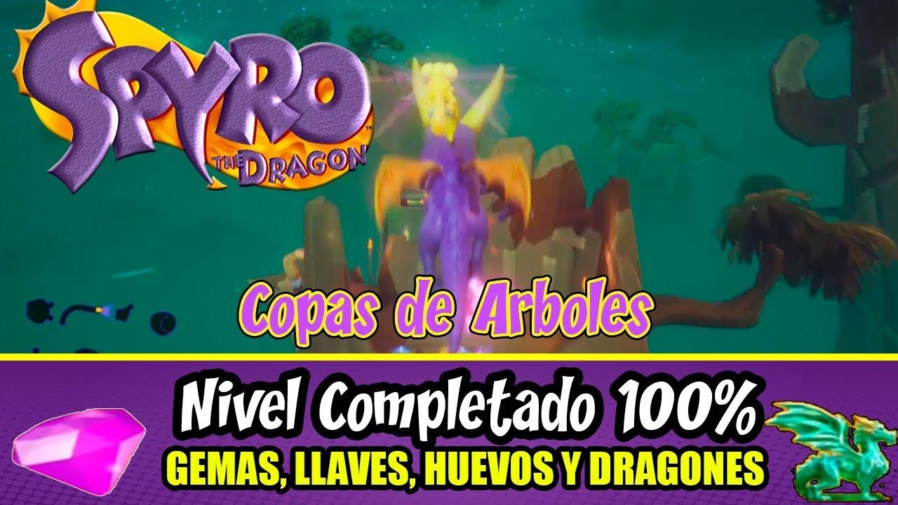 Spyro The Dragon 100 All Gems Eggs Keys Dragons