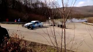Rallye crash qui tourne mal