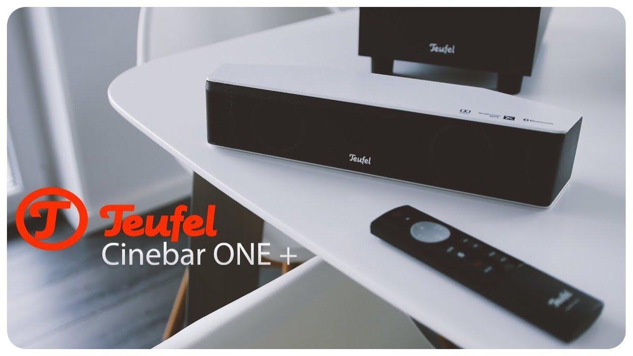 Teufel Cinebar One Im Test Die Soundbar Fur Fernseher Finaltestman Youtube