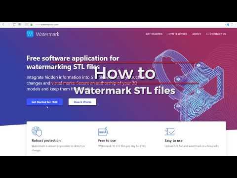 0 - Watermark 3D: Treatstock stellt Tool zum Schutz des geistigen Eigentums von 3D-Modellen vor