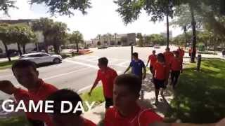A Day in the Life Of a USL Pro player on the road. Dayton Dutch Lions