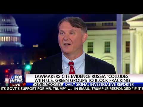 Kevin Mooney on Fox's Tucker Carlson show discussing Russia Colludes with Anti-Fracking Groups