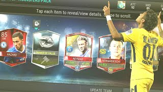 FIFA MOBILE - TOP TRANSFER PACK OPENING 2x TRANSFER PLAYER PULLED!!