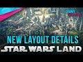New LAYOUT DETAILS for Star Wars: Galaxy's Edge at Disneyland Resort - Disney News - 4/19/18