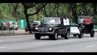 Lee Kuan Yew - The Funeral Cortege - @  Jalan Bukit Merah & Lornie Road (29-03-2015)