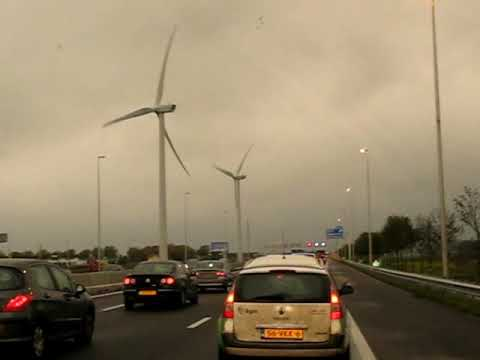 Really big windmills in Holland aka wind turbines in the Nederlands