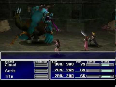 Final Fantasy VII PC version - Still More Fighting XG