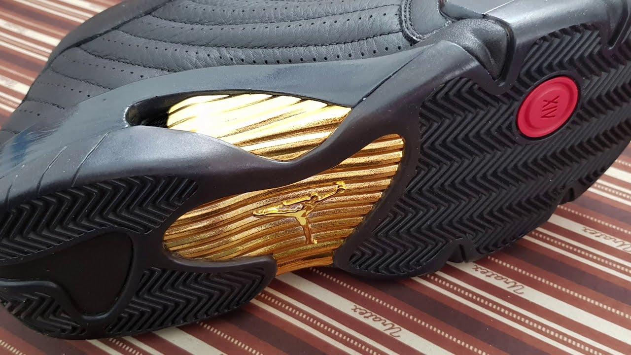 huge selection of de21a c20e7 Jordan 14 last shot DMP review on feet