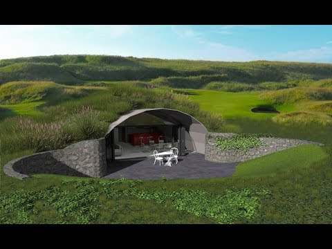 Custom Built Underground Homes Pros And Cons Underground Home Design Ideas Youtube