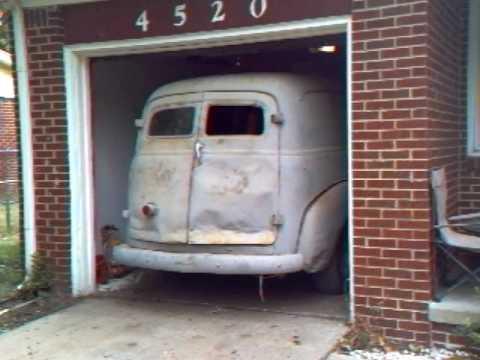 1951 chevy panel truck