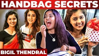 """Nayanthara's Watch""- Amritha Aiyer's HandBag Secrets Revealed By VJ Ashiq"