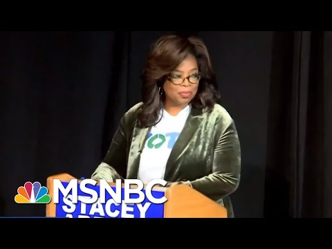 Can Oprah Winfrey's Endorsement Give Stacey Abrams An Edge Over Brian Kemp?   Velshi & Ruhle   MSNBC