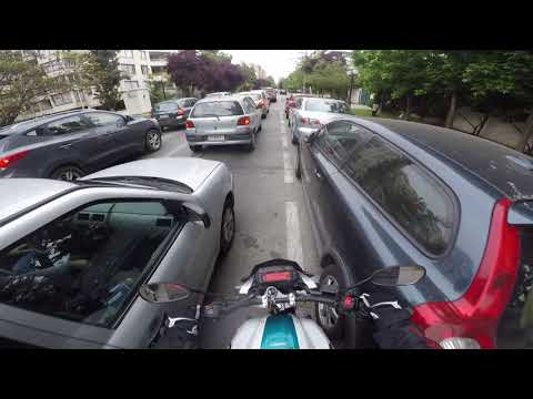 GoPro | Daily ride in santiago, Chile 0003 | Yamaha FZ