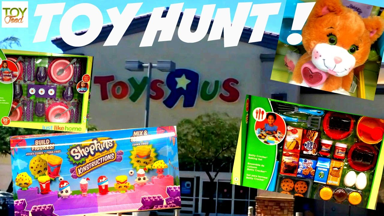 Toys R Us Play Dishes : Toy food shopping at toys r us just like home play sets