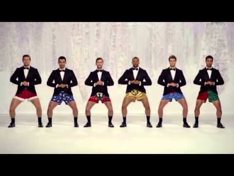 Show Your Joe - Kmart Christmas Commercial TV AD [men in boxers Kmart Controversy]