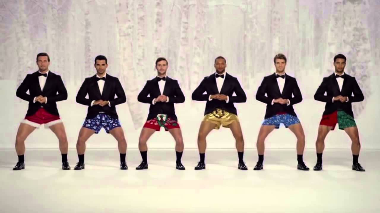 Show Your Joe - Kmart Christmas Commercial TV AD [men in boxers ...