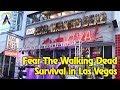 Fear the Walking Dead Survival attraction highlights in Las Vegas