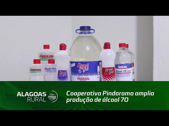 Cooperativa Pindorama amplia produção de álcool 70