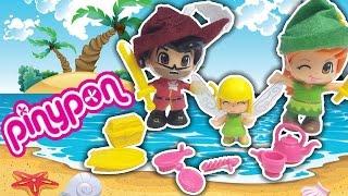 PINYPON FIABE - PETER PAN TRILLY E CAPITAN UNCINO giochi per bambine - voliamo all'isola che non c'è