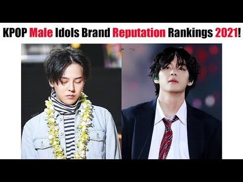KPOP Male Idols Brand Reputation Rankings First Half Of 2021!