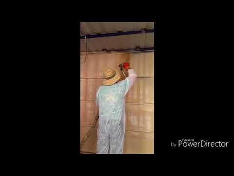 Sea Container get spray foam insulation in perth WA