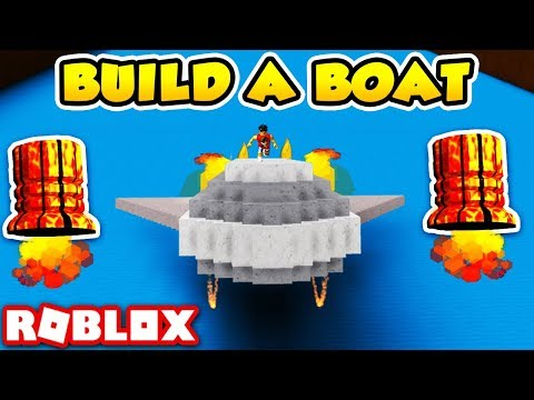 FLYING BOATS w/ THRUSTERS - Build a Boat for Treasure! (Roblox)