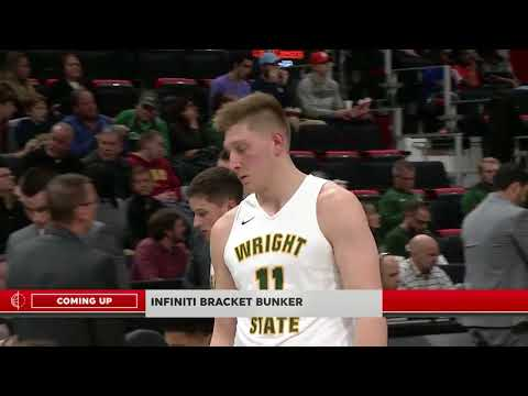 Cleveland State V Wright State  NCAA Men's Basketball March 6, 2018