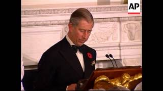 Prince Charles says US must take lead on crucial issues facing planet