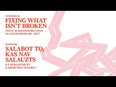 FIXING WHAT ISN'T BROKEN - PART 2 -  Stephanie Weber