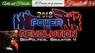 Geopolitical Simulator 4 P&R 2018 Italia Borgia: #34 [Finale]