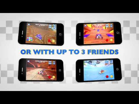 Sonic & SEGA All-Stars Racing Official Trailer for iPhone, iPad, iPod Touch