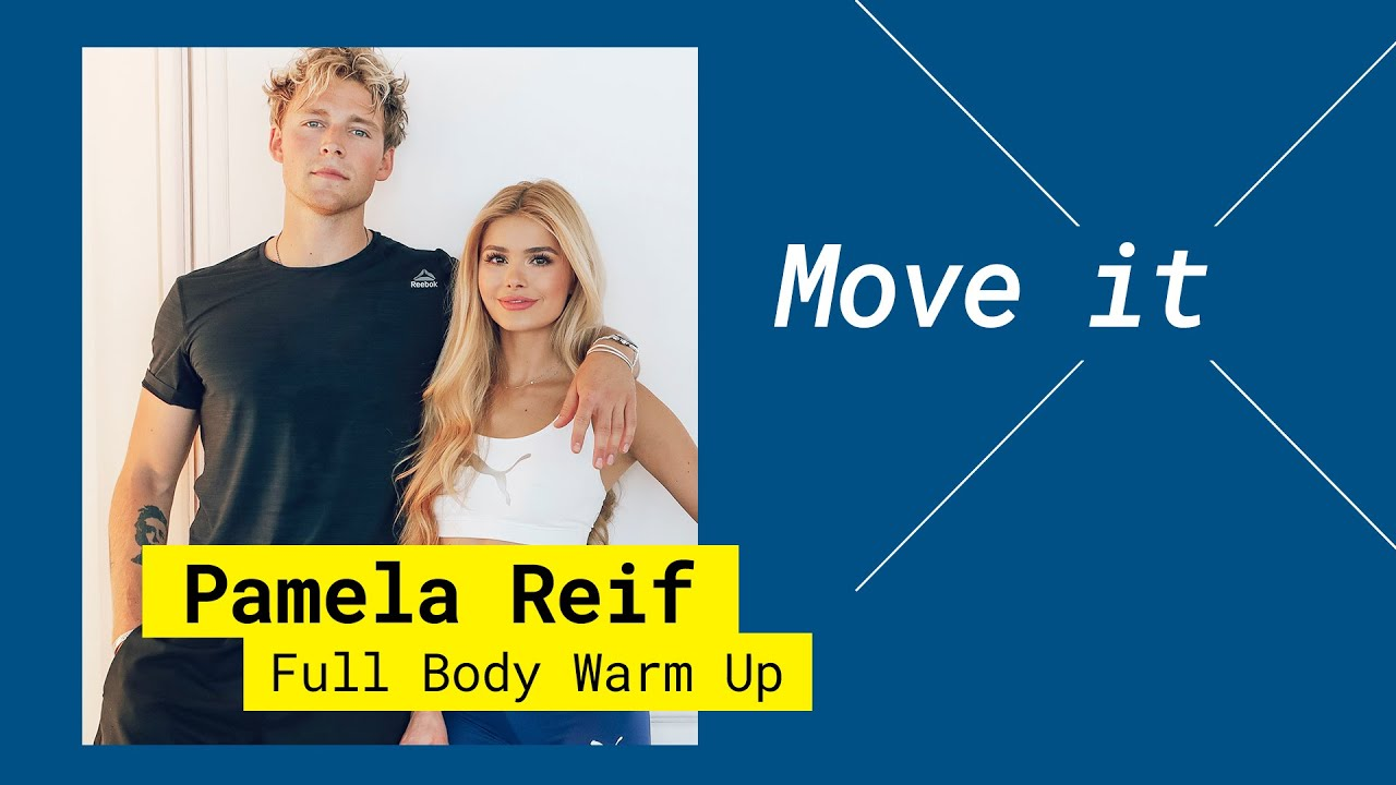 Get active | Pamela Reif feat. Christopher – Full Body Warm Up