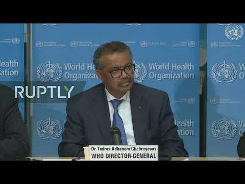 LIVE: WHO updates media on coronavirus outbreak