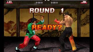 Tekken 3 ( PS1 ) - Lei - Arcade Mode - Arranged Music ( Aug 23, 2017 ) thumbnail