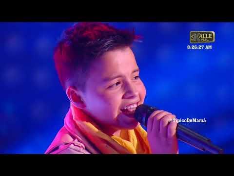Juanse, el finalista el equipo Yatra en La Voz Kids   La Kalle
