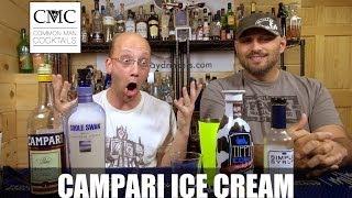 Campari Ice Cream Cocktail....enough Said.