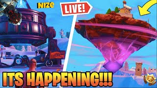 *NEW* FORTNITE ROCKET LIVE EVENT HAPPENING RIGHT NOW! (New Map?!)