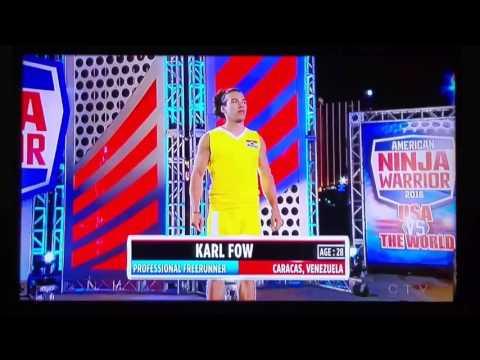 American Ninja Warrior - USA vs the World - Venezuelan competitor
