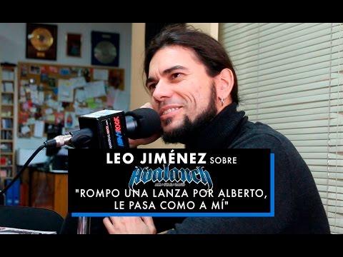 """Leo Jiménez sobre Avalanch All Star Band: """"Rompo una lanza por Alberto, le pasa como a mí"""""""
