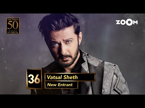 Vatsal Sheth gets the top spot on the Ahmedabad Times Most Desirable Men's list of 2020