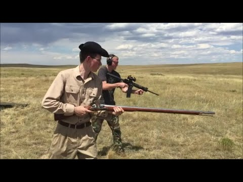 Musket vs  AR-15 ~ 1,000 subscriber thank you
