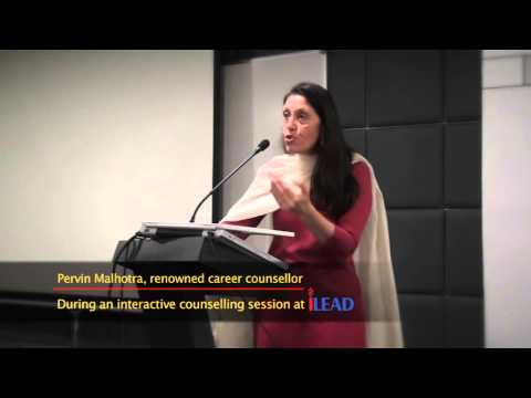 Renowned Career Counsellor Pervin Malhotra at iLEAD