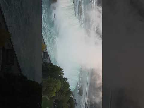 Canada's Horseshoe Falls in Niagara Falls