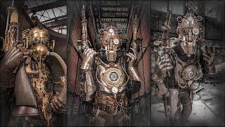 Steampunk Kunst von Alexander Schlesier - Skulls N Gears