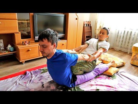 ASMR Cosmic Thai Massage in Russia